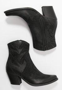 Felmini - LAREDO - Cowboy/biker ankle boot - morat - 3