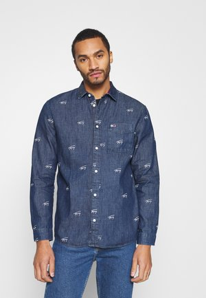 CRITTER PRINT UNISEX - Shirt - denim dark