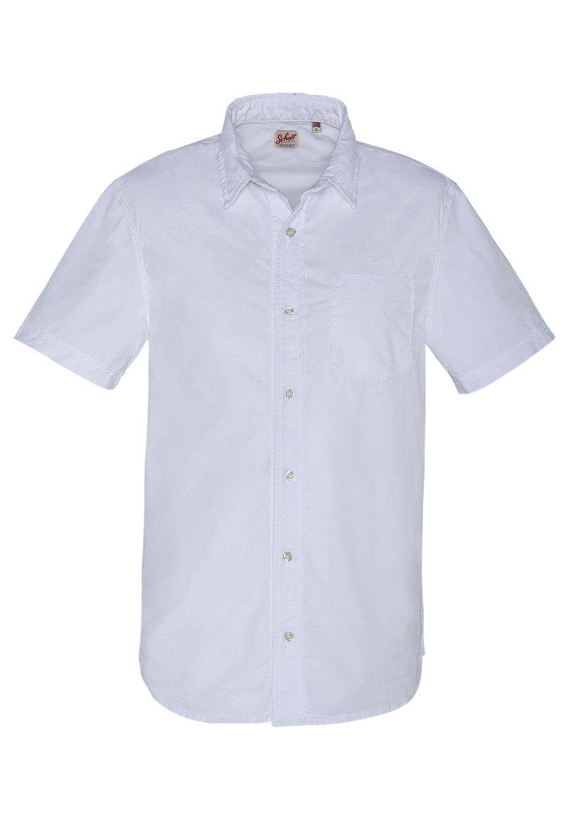 Schott - Shirt - blanc