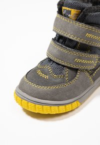 Lurchi - JAUFEN TEX - Zimní obuv - grey/yellow - 5