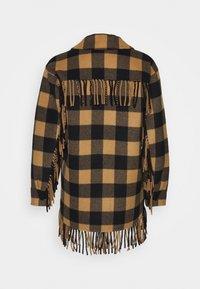 sandro - FENY - Summer jacket - camel/noir - 1