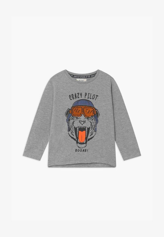 KID - T-shirt à manches longues - mottled grey