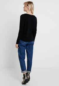 Rich & Royal - HEAVY LONGSLEEVE - Long sleeved top - black - 2