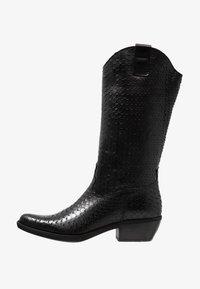 Felmini - EL PASO - Cowboy/Biker boots - naja/black - 1