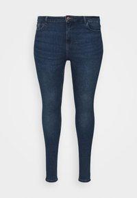 PCHIGHFIVE FLEX - Skinny džíny - medium blue denim