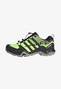 adidas Performance - TERREX SWIFT GORE-TEX HIKING SHOES - Hiking shoes - green - 1