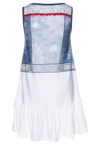 Desigual - CUAUTITLÁ - Jersey dress - blanco - 1