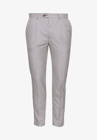 1904 - POULSDEN TAPERED GINGHAM - Pantalon de costume - blue - 4