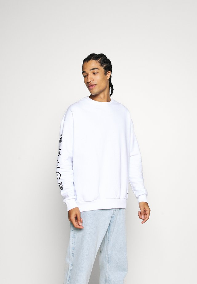 UNISEX - Sweater - white