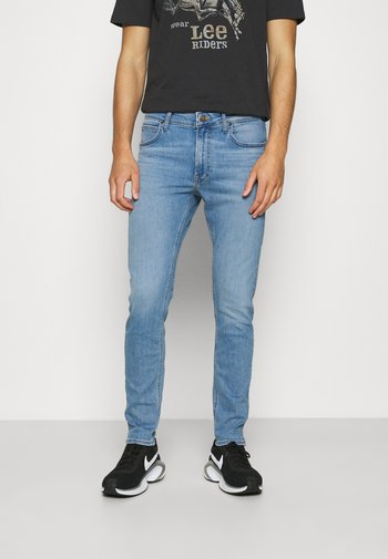 MALONE - Slim fit jeans - light-blue denim