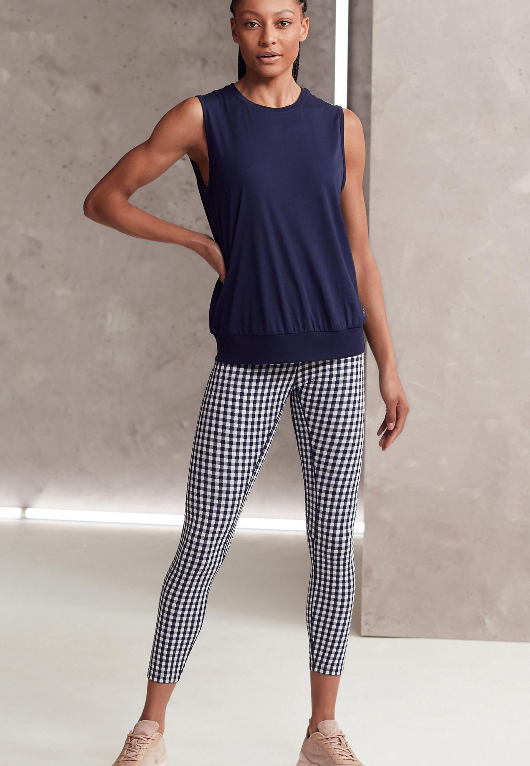 Donna GINGHAM - Collant