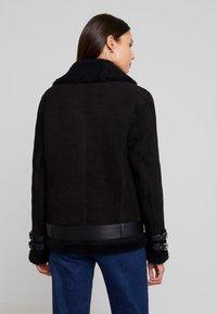 Maze - JEAN - Leather jacket - black - 2