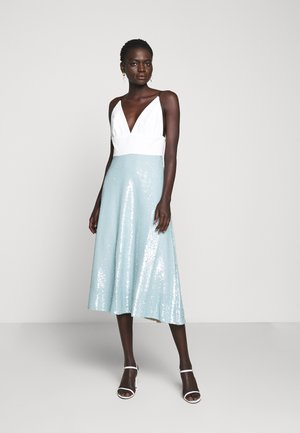 AVILA MIDI DRESS SEQUINS - Cocktail dress / Party dress - powder