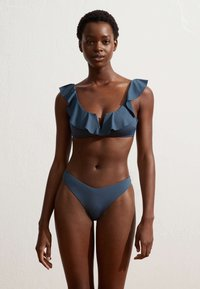 OYSHO - Bikini bottoms - dark blue - 1