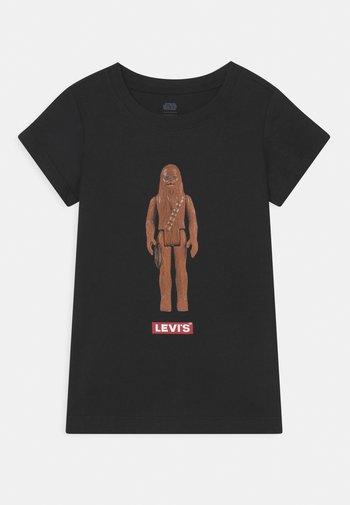 STAR WARS CHEWBACCA  - T-shirt con stampa - black