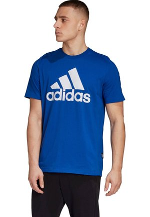 BADGE OF SPORT - Print T-shirt - royalblau (294)