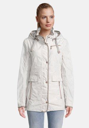 MIT ABNEHMBARER KAPUZE - Summer jacket - beige