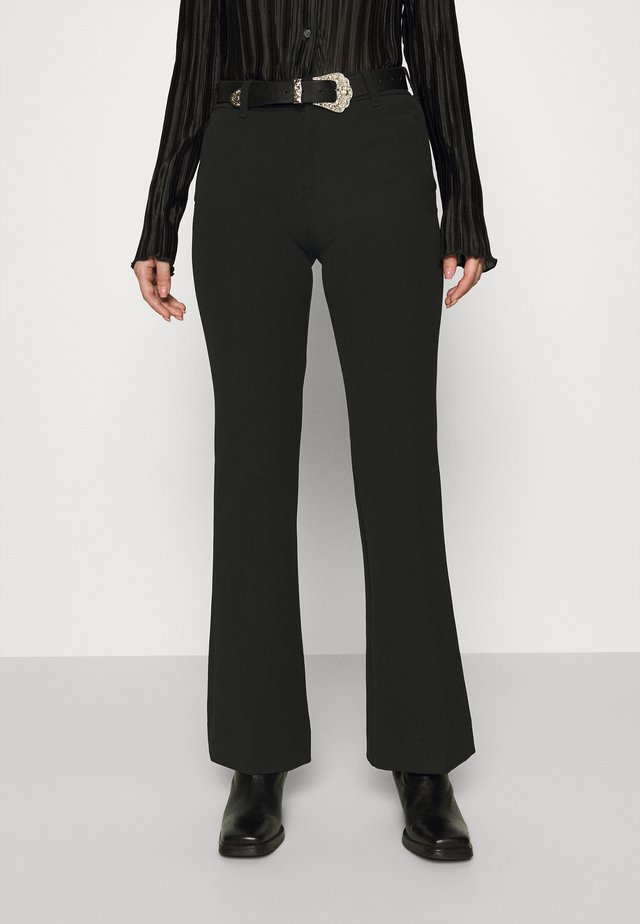 SILVIA - Trousers - black