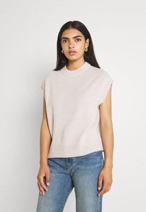 T-shirt basic - pumice stone