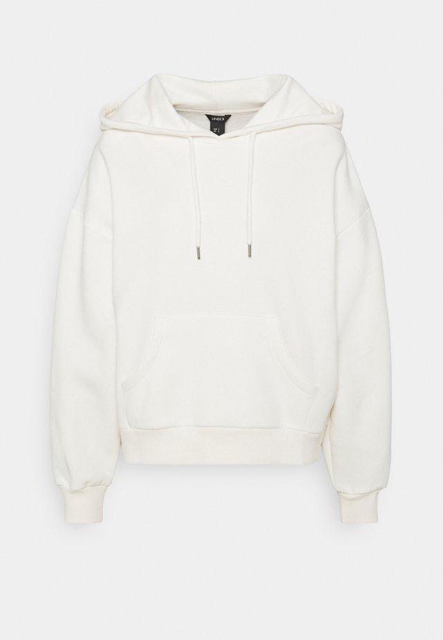 HOODIE ODA - Sweater - light white