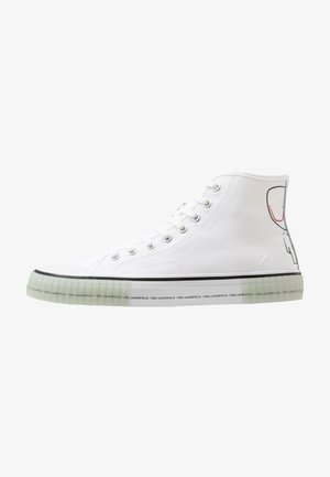 KAMPUS II KARL OUTLINE - High-top trainers - white