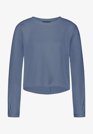 Sweatshirt - vintage blue