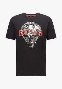 BOSS - TDRAW - Print T-shirt - black - 4
