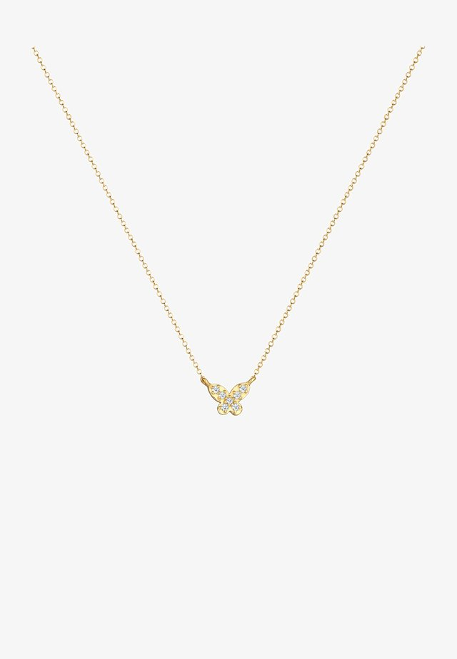 SCHMETTERLING - Necklace - gold
