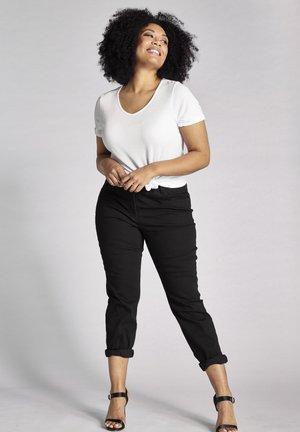 GROSSE GRÖSSEN - Straight leg jeans - schwarz
