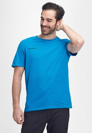 MASSONE - Print T-shirt - gentian