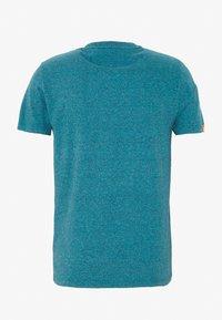 Superdry - VINTAGE EMBROIDERY TEE - Print T-shirt - pool blue/navy grit - 1
