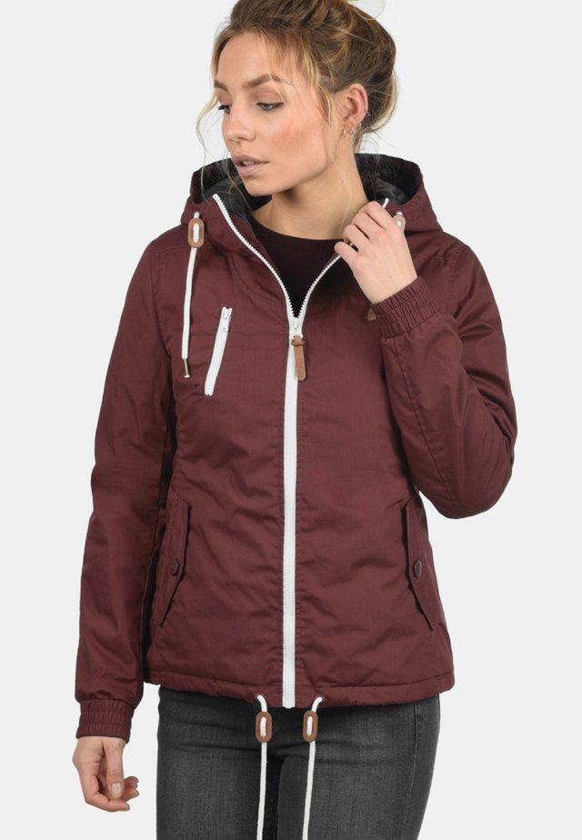 TILDA - Light jacket - wine red