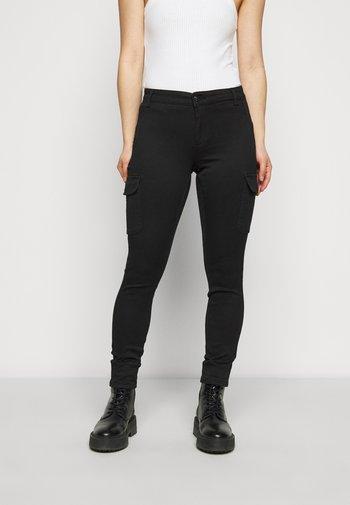 ONLLINE EASY PANT - Tygbyxor - black