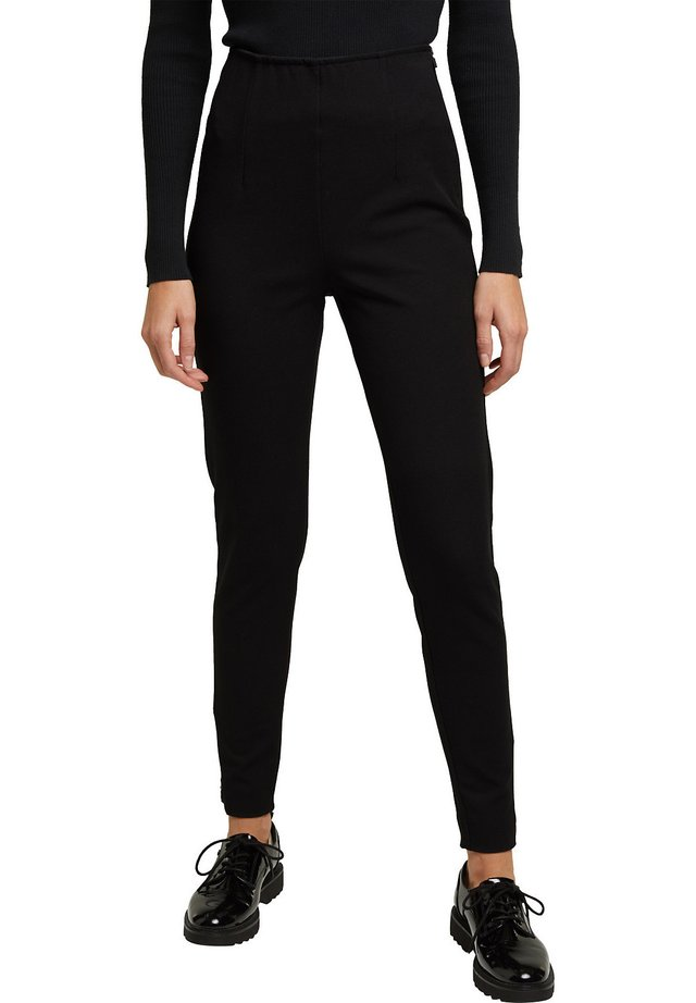 FASHION - Trousers - black