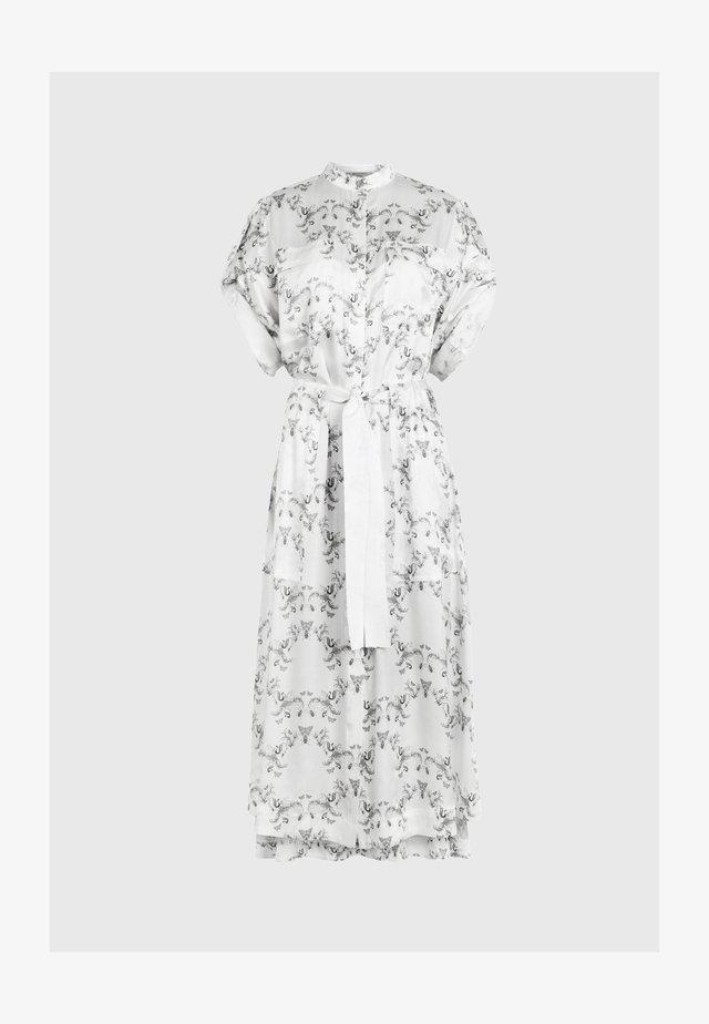LUCIANA ASSAM - Skjortekjole - white