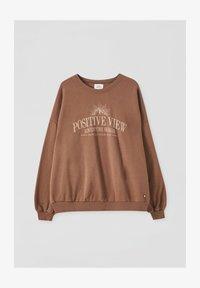 PULL&BEAR - Sweatshirt - brown - 4