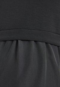 ATTESA - Sukienka z dżerseju - anthracite - 2