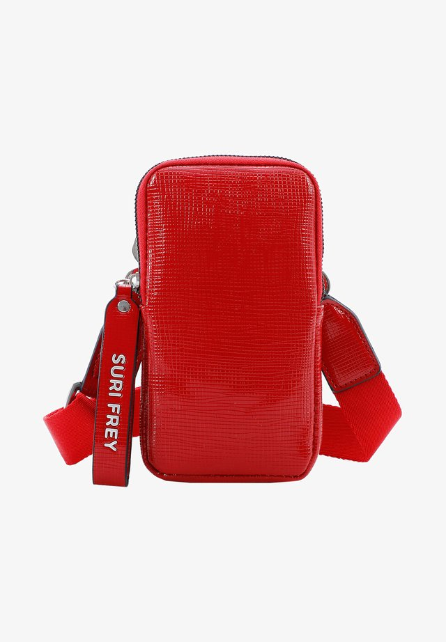 HANNY - Across body bag - red