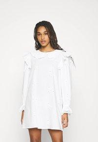 River Island - Shirt dress - white - 0