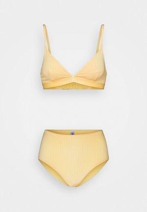 Triangle bra - yellow