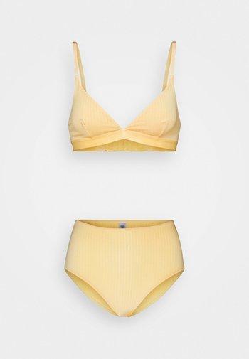 BRA MALIKA SET - Kaarituettomat rintaliivit - yellow