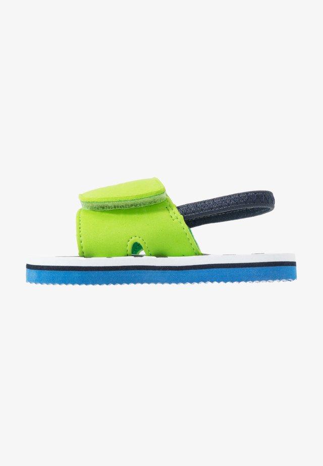 Sandals - sea/green