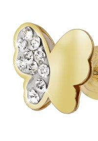 Lucardi - 14 CT GOLD - Earrings - goud - 2