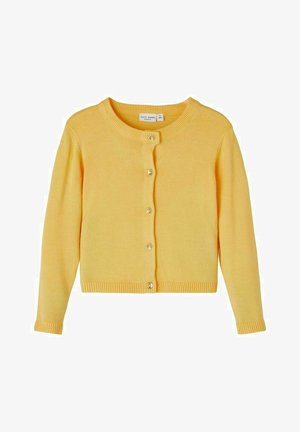 Cardigan - sunset gold