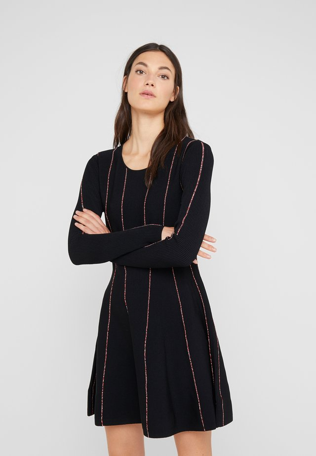 DOJA - Jumper dress - black