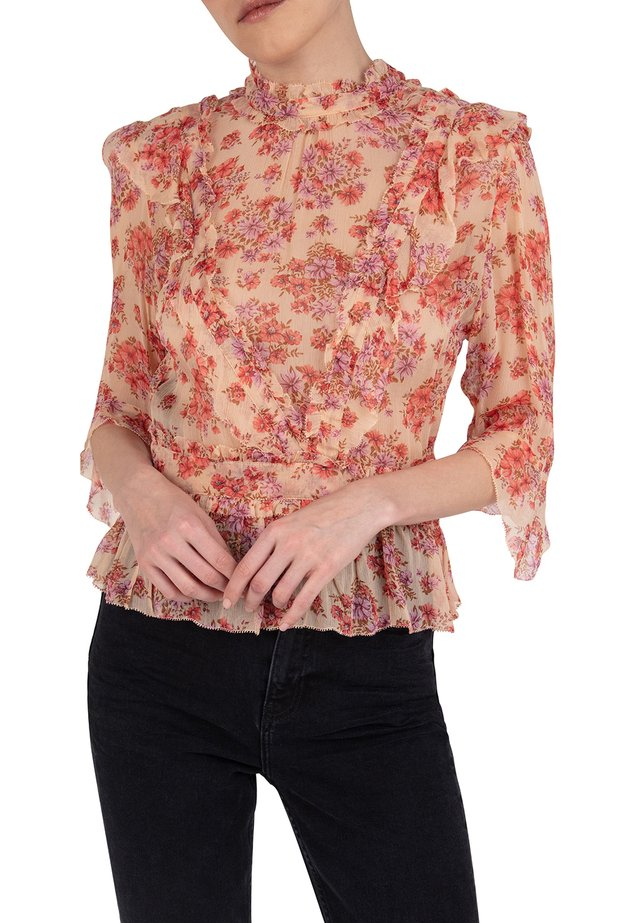 WITH FRILLS - Blouse - pin02