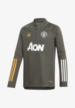 MANCHESTER UNITED TRAINING TOP - Article de supporter - green