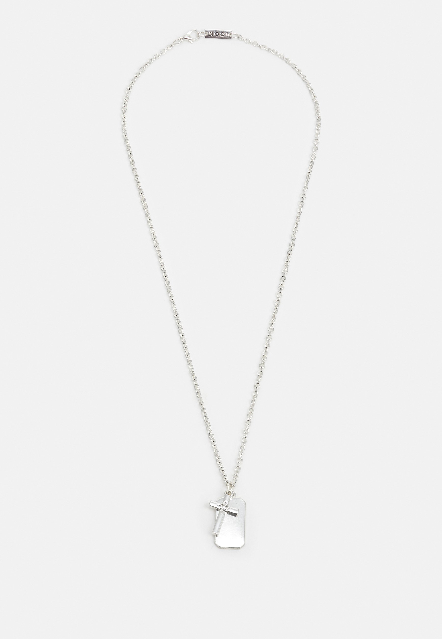 Homme CROSS AND DOG TAG NECKLACE - Collier