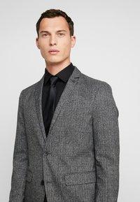 Esprit Collection - CHECK BLAZER - Blazer jacket - dark grey - 5
