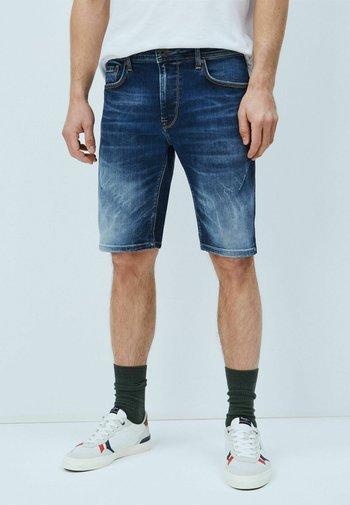 Denim shorts - denim